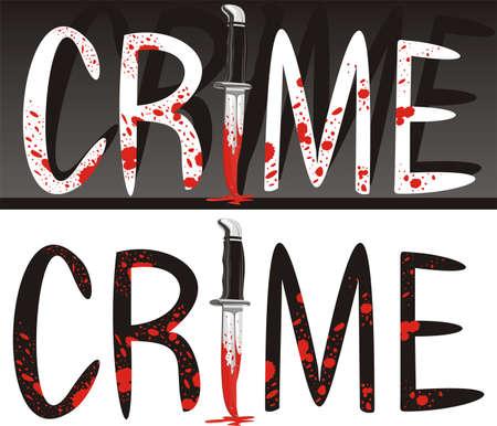 crime scene - crime of passion Stock Vector - 11375827