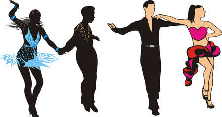 pirouette: dancers - latin american