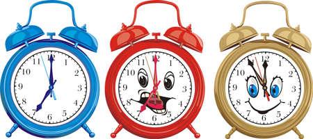 oversleep: ringing alarm cloks