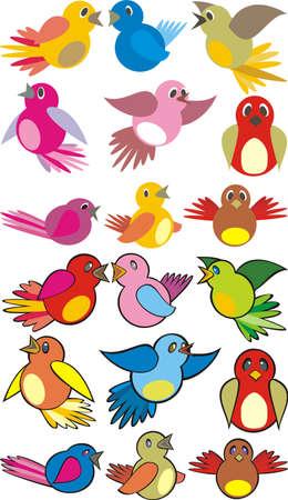 song bird: singing birds