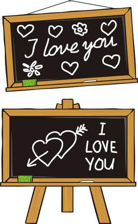infatuation: i love you - puppy love Illustration