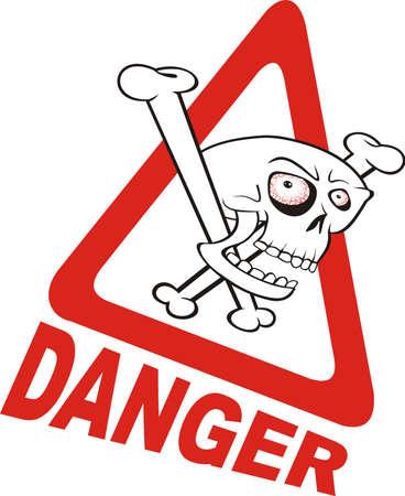 warning sign - danger Stock Vector - 12091184