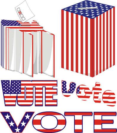 electorate: vote - usa
