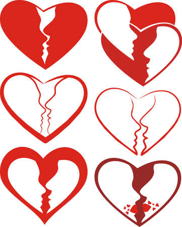 heart and love Stock Vector - 12301532