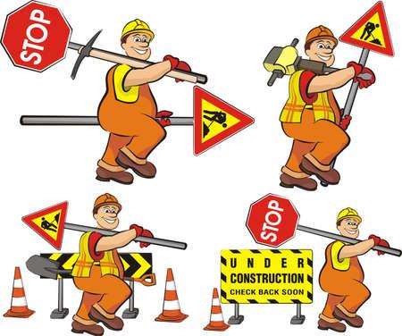road worker - under construction