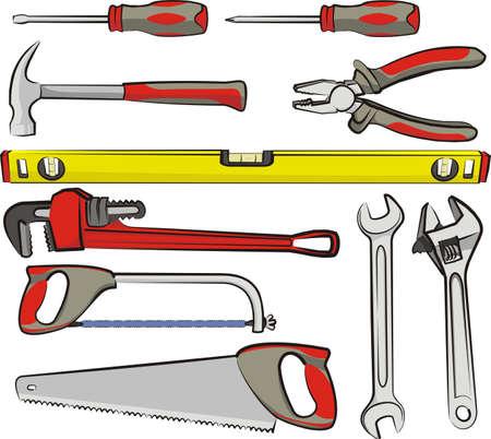 hand tools Illustration