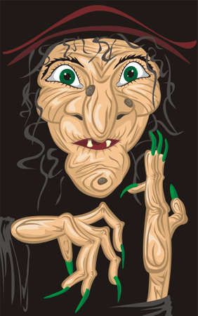 pocion: vieja bruja horrible