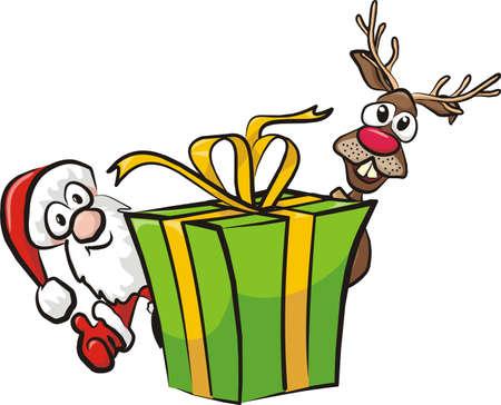 christmas gift Stock Vector - 15964070