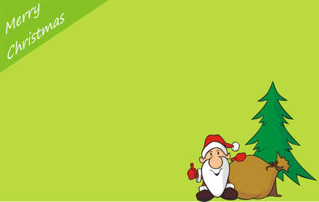 merry christmas - background Vector