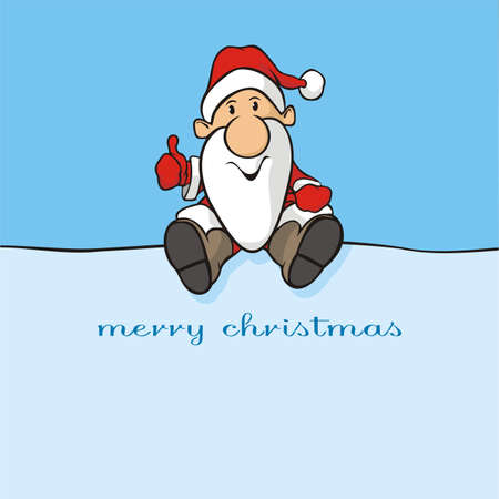 merry christmas -  santa claus Stock Vector - 16053944