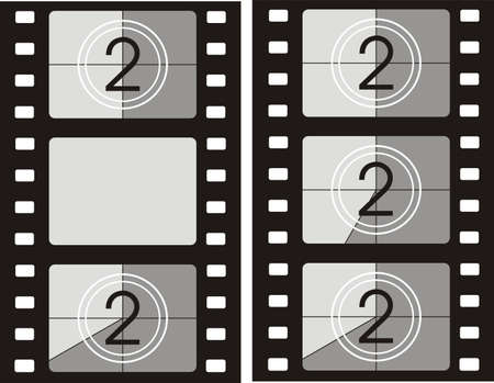 film projector: film reel background - movie frames
