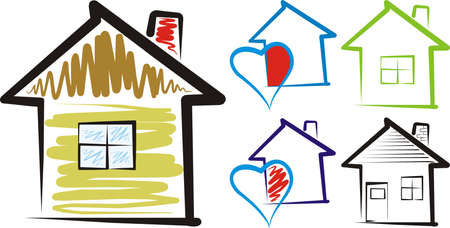 hearty: home, sweet home - silhouette