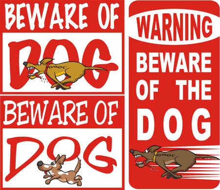 beware of the dog: beware of dog
