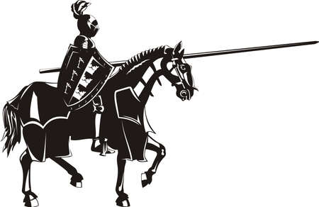 joust: medieval knight