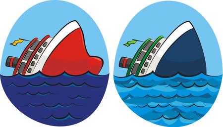 sinking: sinking ship