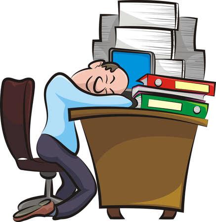 burnout: break in the office