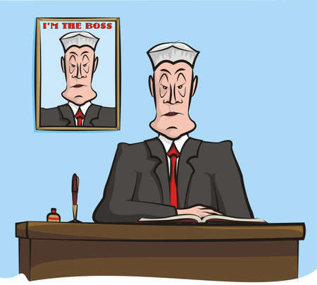 demanding: i m the boss - office