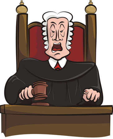 speaking judge Vector