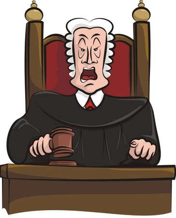 judges: speaking judge Illustration