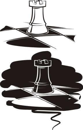 ajedrez torre