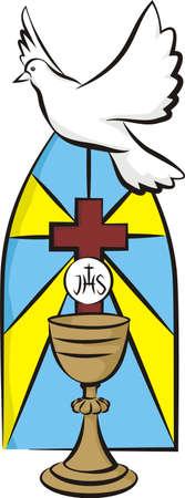 holy  symbol: primera comunión