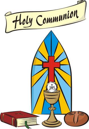prima comunione: prima comunione Vettoriali