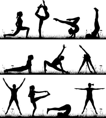 outdoor fitness: outdoor fitness and gymnastics