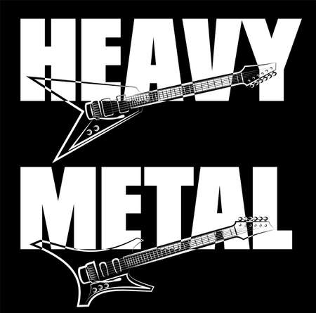 heavy metal: heavy metal guitar