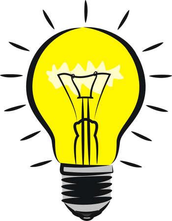verlichting lamp - idee metafoor