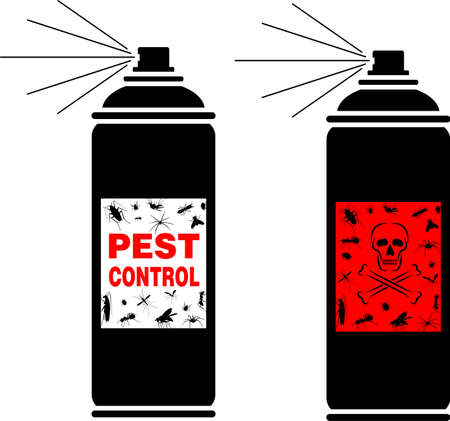 disgusting animal: pest control spray
