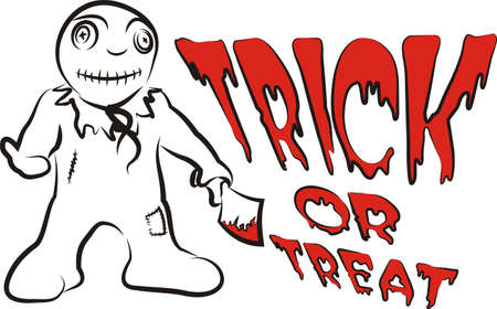 fearful: trick or treat - bloody kid