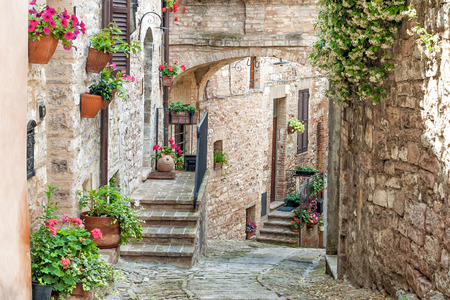 umbria: Typical Umbria Alley