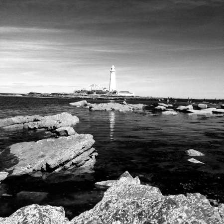 mary's: St. Marys Lighthouse, Whitley Bay in Northumberland