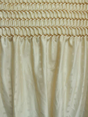 smock: smock curtain add more drama and detail.