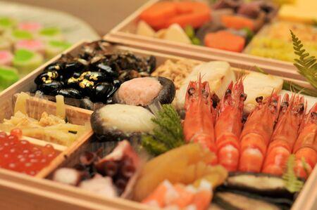 traditionele gerechten Japanse New Year's