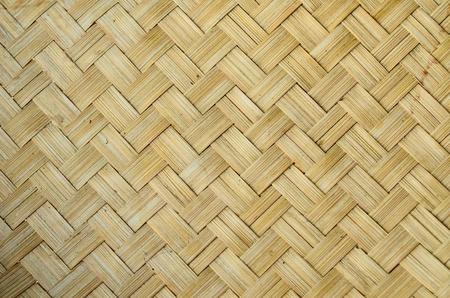 Bambus-Gewebestruktur im Lanna-Thai-Stil Standard-Bild