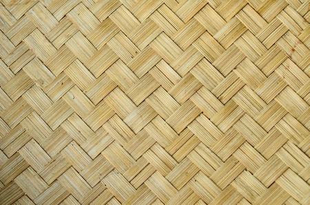 mimbre: Patr�n de tejido de bamb� en estilo tailand�s de Lanna