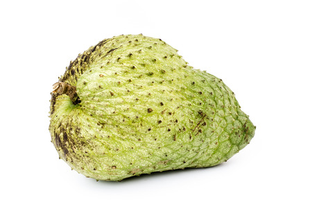 annona: Sour sop, Graviola, Guyabano isolate on white background Stock Photo