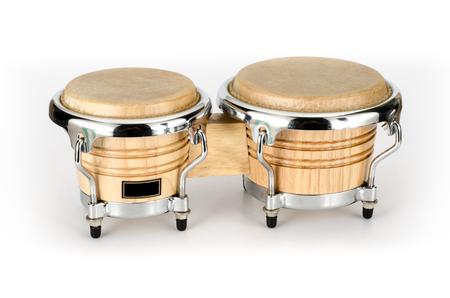 bongo: Image of bongo a latin percussion on white background Stock Photo
