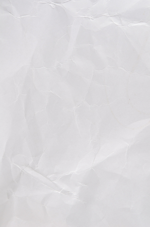 Image of white wrinkle paper
