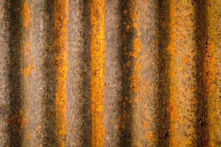 corrugated metal: grunge rusty corrugated metal