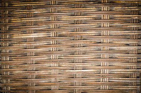 weave: Image of Old bamboo weave