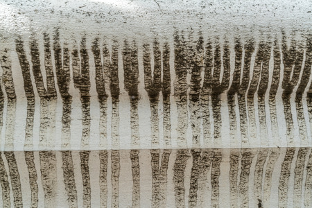 water stain: Old concrete wall with water stain texture Stock Photo