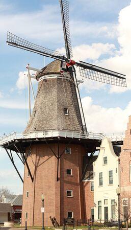 dutch: Dutch windmil Editorial
