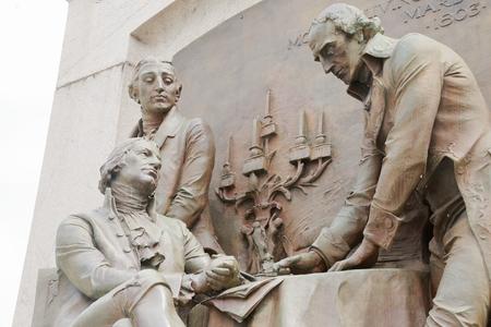 Exterior sculpture at Missouri State Capitol