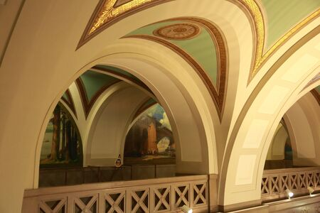 Interior:  Missouri State Capitol building, Jefferson City, MO
