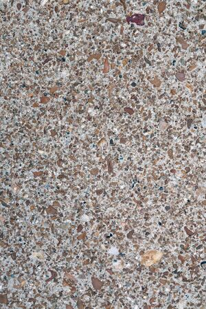 Granite texture with different color rocks