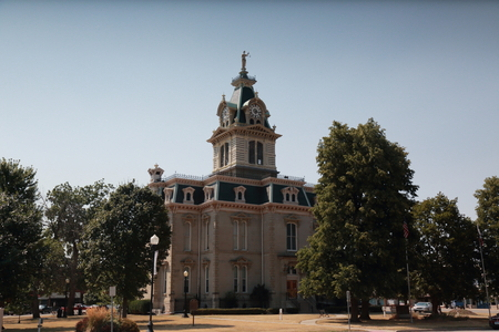 Building on the Missouri State Capitol grounds