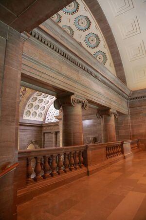 Interior of the Missouri State Capitol in Jefferson CIty