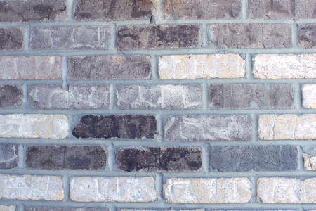 zoomed in: Brick Wall Background Stock Photo